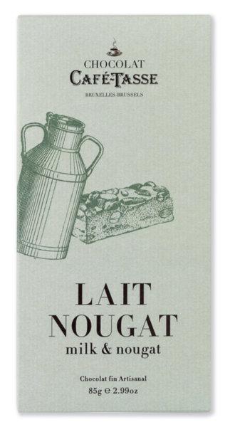 Café-Tasse белгийски шоколад-млечен с нуга